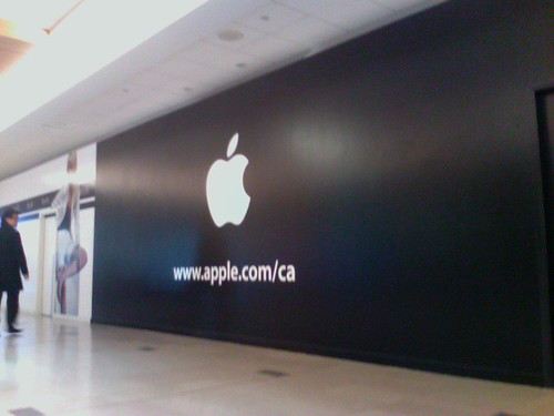 Apple Store Pacific Centre - Under Construction