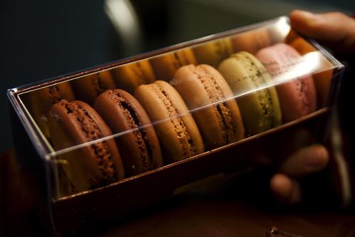 La Maison du Chocolat macarons