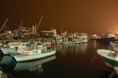 fishing boats of istanbul (Brahte) Tags: sky night port reflections boats fishing istanbul loveit burning calmness saryer likeapainting fineartphotos goldenmix anawesomeshot wonderfulworldmix simplysuperb worldtrekker spiritofphotography qualitypixels llovemypics