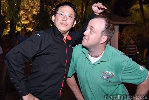 Me and Kid Chan