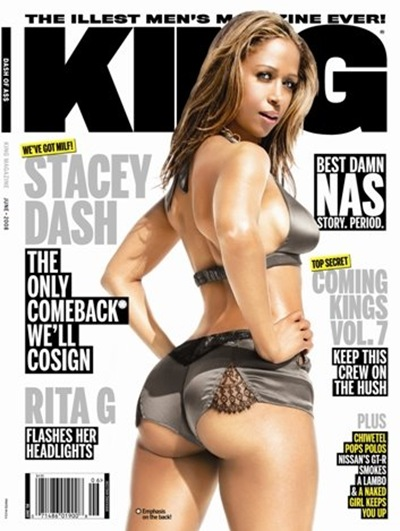 stacey dash king magazine 2008