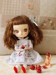 Tea Time (.min.) Tags: toy doll dolls pentax tea dal pullip 16 custom rement 50mmf14 earlgrey reddot k200d