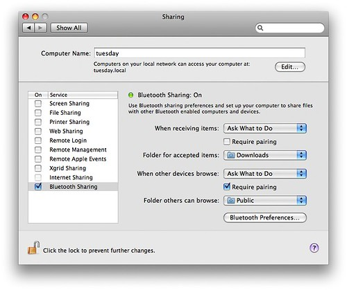 System Preferences -> Sharing