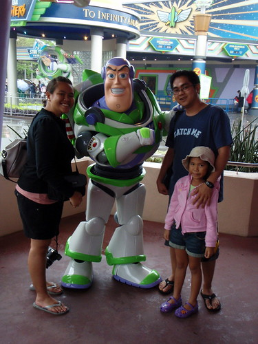 with buzz lightyear!