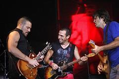F.R.D. en el show de Los Piojos (21 de Abril)