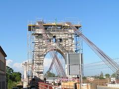 Obres de Pont Penjat d'Amposta