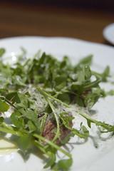 Cuore di Manzo alla Griglia con Rucola, Caffé Classica, ecute Shinagawa