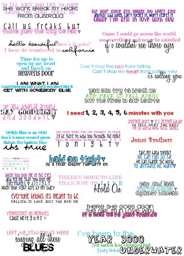 the jonas brothers quotes