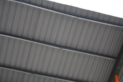 Malformed steel truss