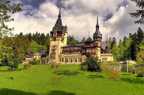 Castillo Peles Sinaia Rumania