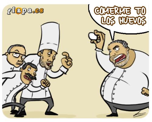 Guerra de cocineros españoles