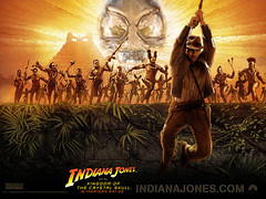 Indy and the Crystal Skull poster