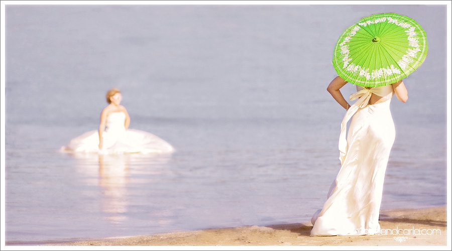 evening behind the scenes Heidi Trash The Dress santa fe dam wedding engagement