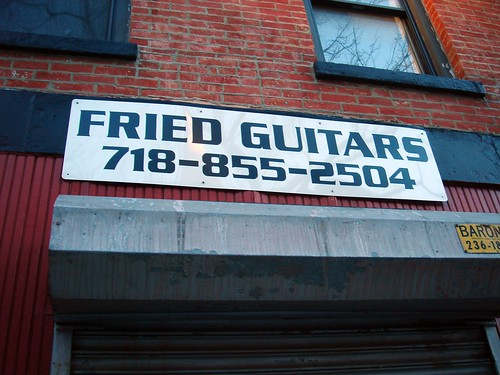 Crunchy Fried Guitars