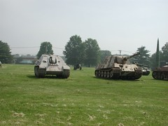 Jagdpanther, Jagdtiger, tank destroyers (arborwin) Tags: tank military wwii maryland equipment destroyer aberdeen german tanks jagdtiger jagdpanther
