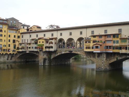 The Ponte Vecchio.