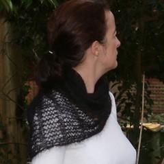wisp as neck warmer (wen1965) Tags: scarf mohair knitty ksh
