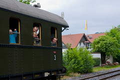 train passengers (fry2k) Tags: classic train eisenbahn ev tradition steamengine dampflok teutoburgerwald twe teuto teutoexpress brochterbeck eisenbahntradition