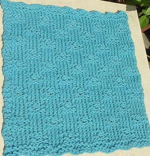 Ravelry: Hole in One Dishcloth (loom knit) pattern by Stephanie McElheran