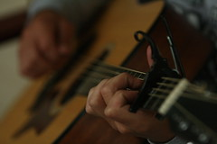 new lens 142 (pesmith) Tags: playing am guitar taylor capo