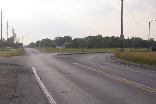 Michigan Road at Old US 421