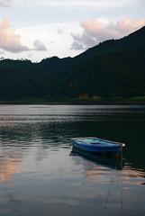 Amami-Oshima boating 2 (Tyger! Tyger!) Tags: travel lake reflection japan boat boating amamioshima
