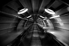 Up and Down (Lightmash) Tags: brussels bw delete2 belgium escalator atomium savedbythedeltemeuncensoredgroup dmu save12 platinumphoto aspect43 aspect1610