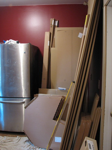 Unassembled kitchen - 2