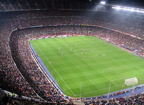 Nou Camp Pitch & Fans