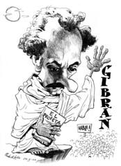 GIBRAN, Khalil (Morales de los Ríos) Tags: writers caricaturas philosophers caricatures escritores filósofos