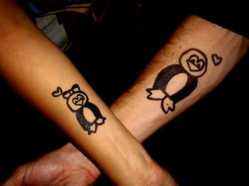penguin tattoos. Penguin Tattoos. Friendguins!