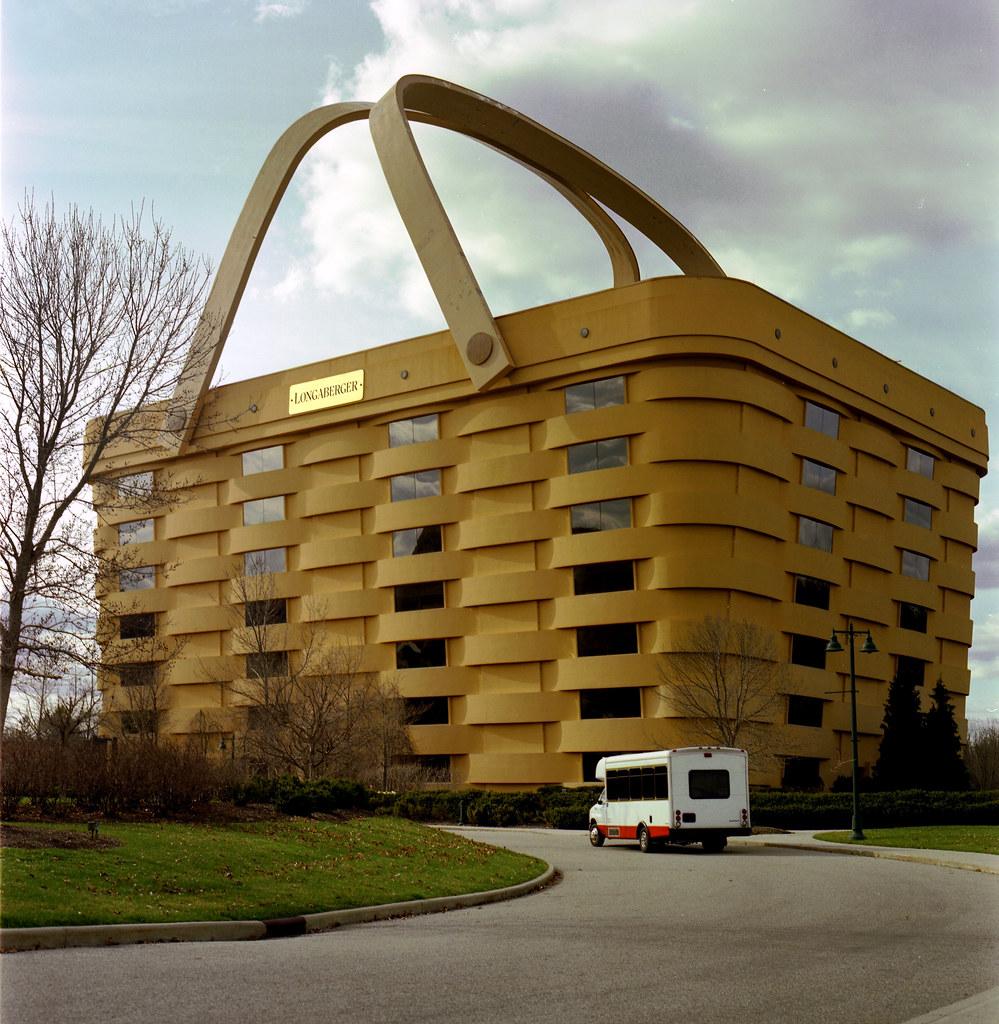 Longaberger Basket Building (Hassle Glad) Tags: Ohio Building Architecture  Weird Office Picnic Basket