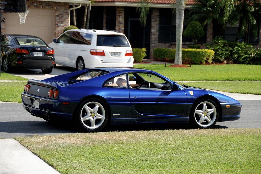 Fs 1999 Ferrari 355 F1 Tdf Blue Tan 13k Miles