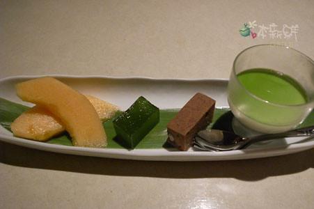 餐後甜點和水果