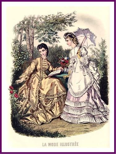 Moda 1850-1870