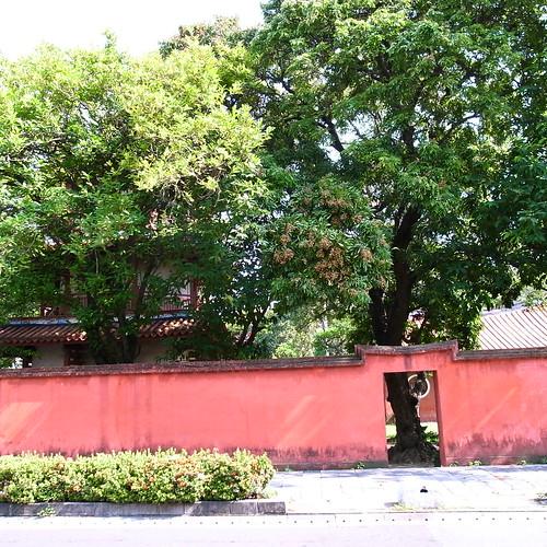 台南は台湾の古都としてたくさん旧跡があります。