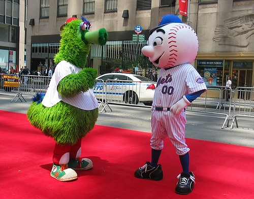 Philly Phanatic Friends And The Philly Phanatic