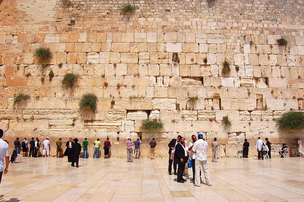 Western Wall,   יְרוּשָׁלַיִם Jerusalem 耶路撒冷