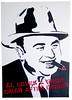 Al loves a good cigar (~Brando~) Tags: chicago gangster stencil cigar mob popart spraypaint mafia alcapone scarface capone