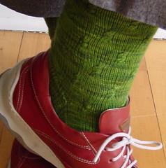 Farfalle socks 2