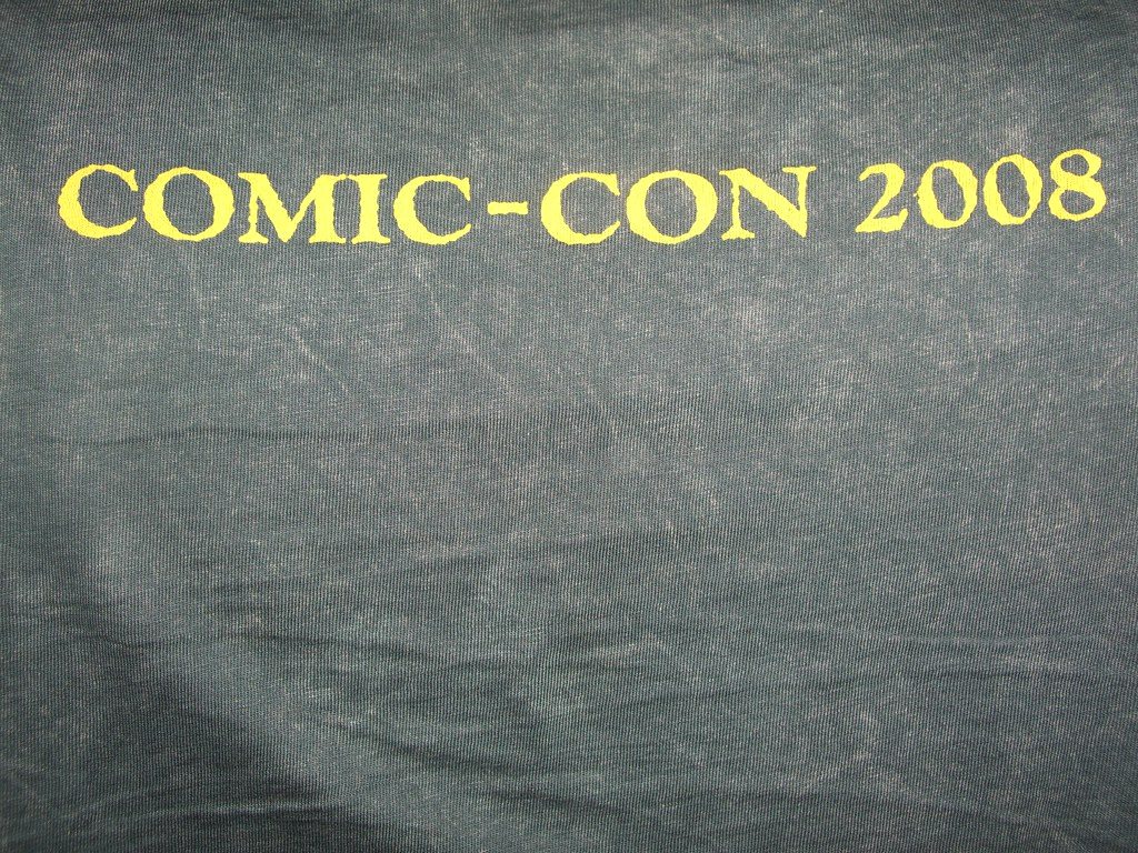 San Diego Comic-Con International 2008 - Freebie T-shirts