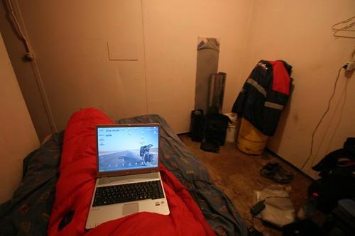 My room at Anna Julia's in Hanga Roa, Rapa Nui.