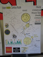 100K route map