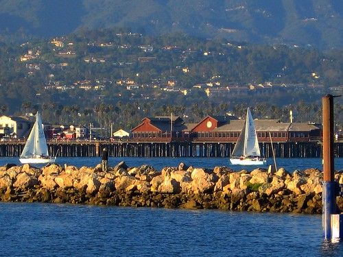Santa Barbara Returning to Harbor