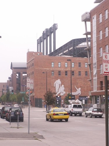 Back of Coors Field