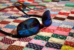 reflection sunglasses bed bedroom nikon quilt sb600 nikkor nikondigital johnsoncity costadelmar johnsoncitytn d80 1855vr