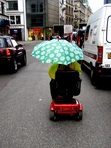 Elderly Transport in the Rain