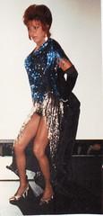 Drag Queen's got legs! (hawhawjames) Tags: chicago beautiful hair drag tv big cross fierce cd queen bighair showgirl wig tranny tall trans dragqueen dresser performer crossdresser dq illusionist