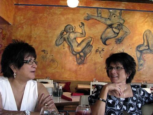 Mi madre y mi tia