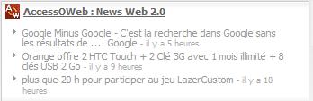 accessoweb netvibes